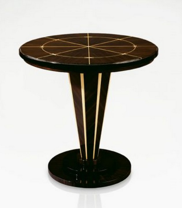 Luxury art deco pedestal