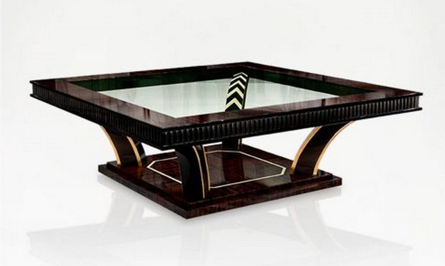 Luxury art deco coffee table