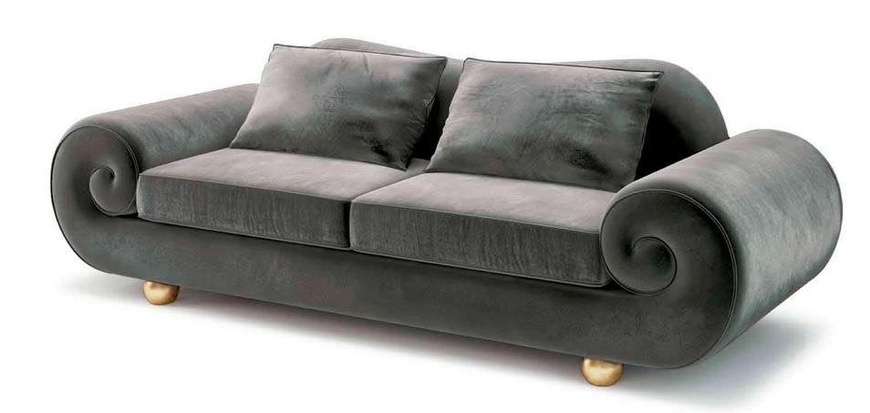 Art deco style sleeper sofa hereo sofa for Art deco style sofa