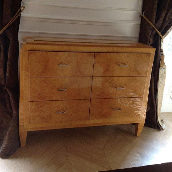 Mobilier art d co meubles sur mesure hifigeny for Meuble art deco belgique