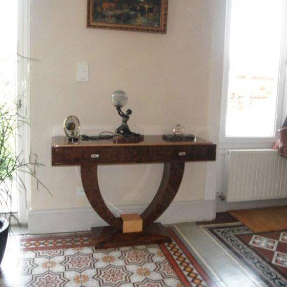 Mobilier art d co meubles sur mesure hifigeny for Modele de console meuble