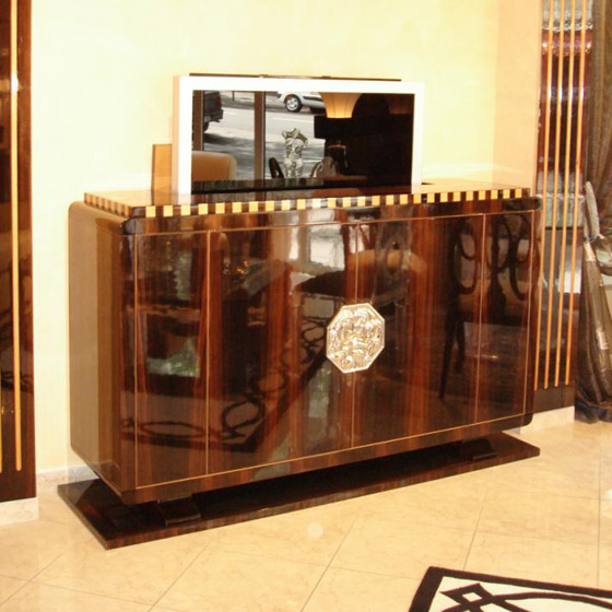 Art deco tv unit paris