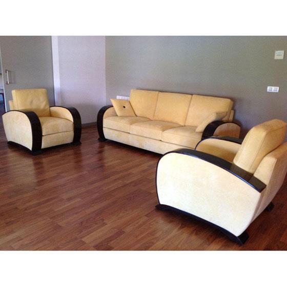 Mobilier art d co meubles sur mesure hifigeny - Modele de deco salon ...