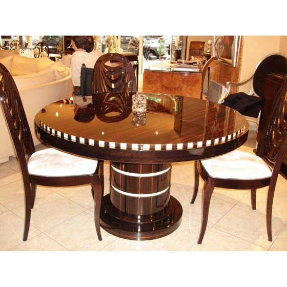 Modele Art Deco Dining Table Paris