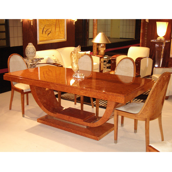 Art Deco Dining Table Paris