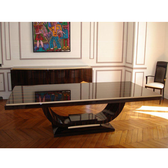 Mod le table de repas art d co paris - Mobilier art deco ...