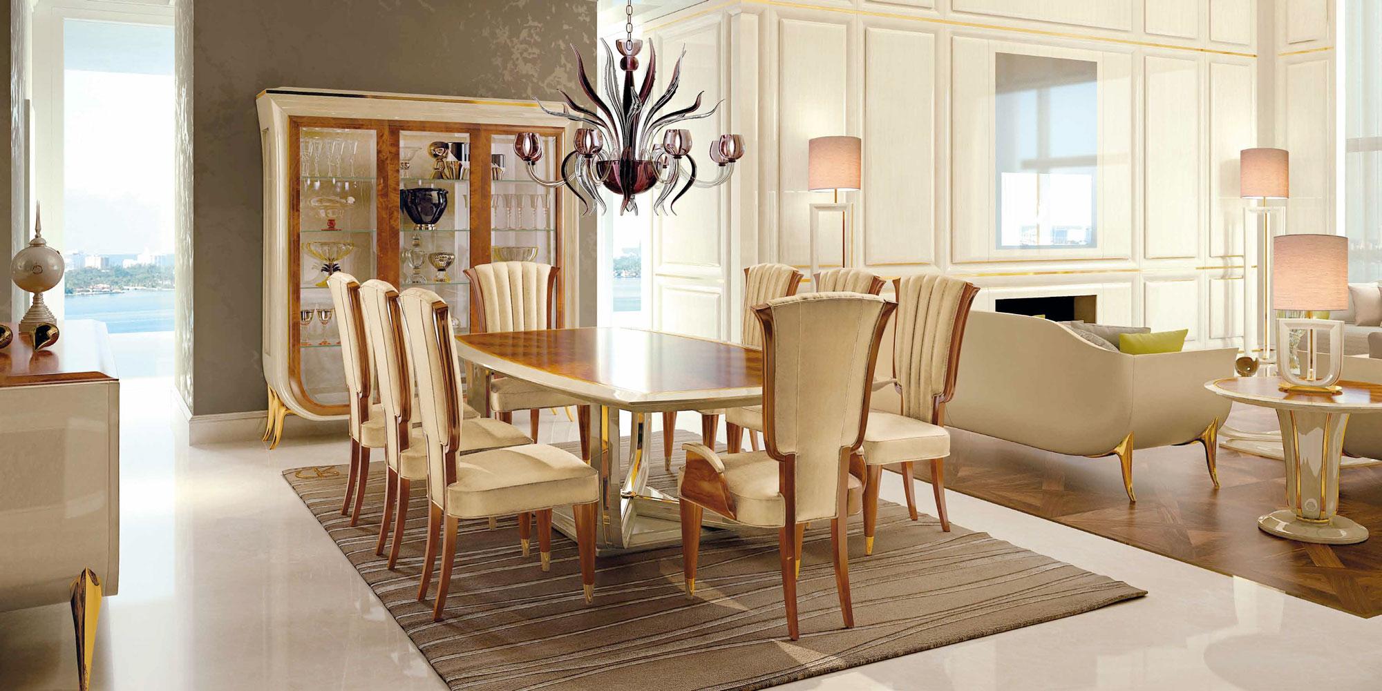 #AE811D Mobilier Art Déco Meubles Sur Mesure Hifigeny 3913 salle à manger style art déco 2000x1001 px @ aertt.com