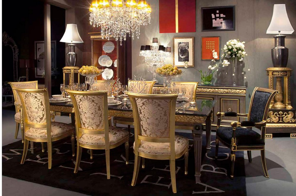 Meubles baroques meubles sur mesure hifigeny - Salle a manger baroque ...