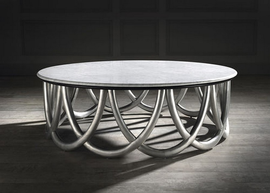 Baroque rond coffee table