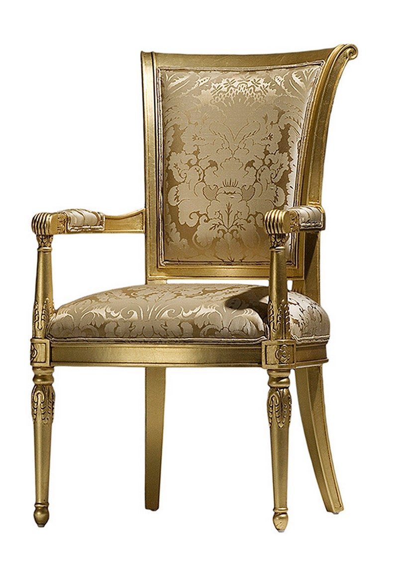Fauteuil de table baroque Paris