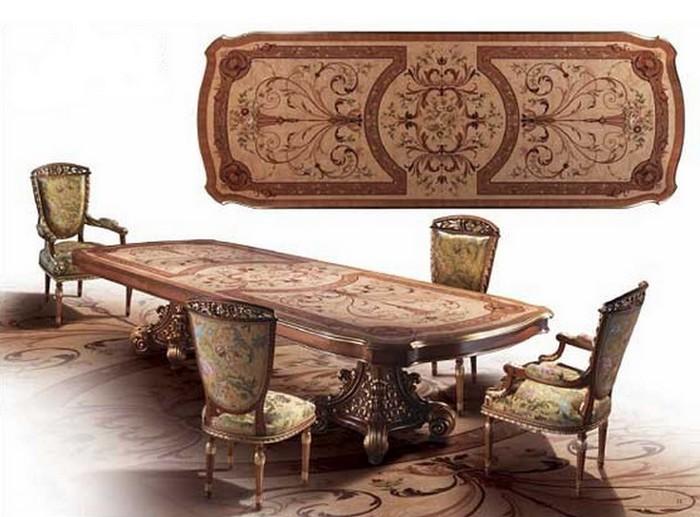 Meubles baroques meubles sur mesure hifigeny for Salle a manger louis xvi