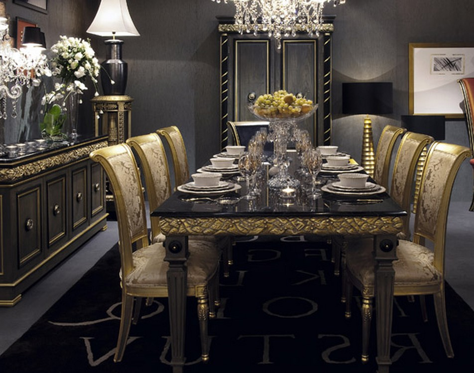 Interesting Baroque Dining Room Photos - Best inspiration