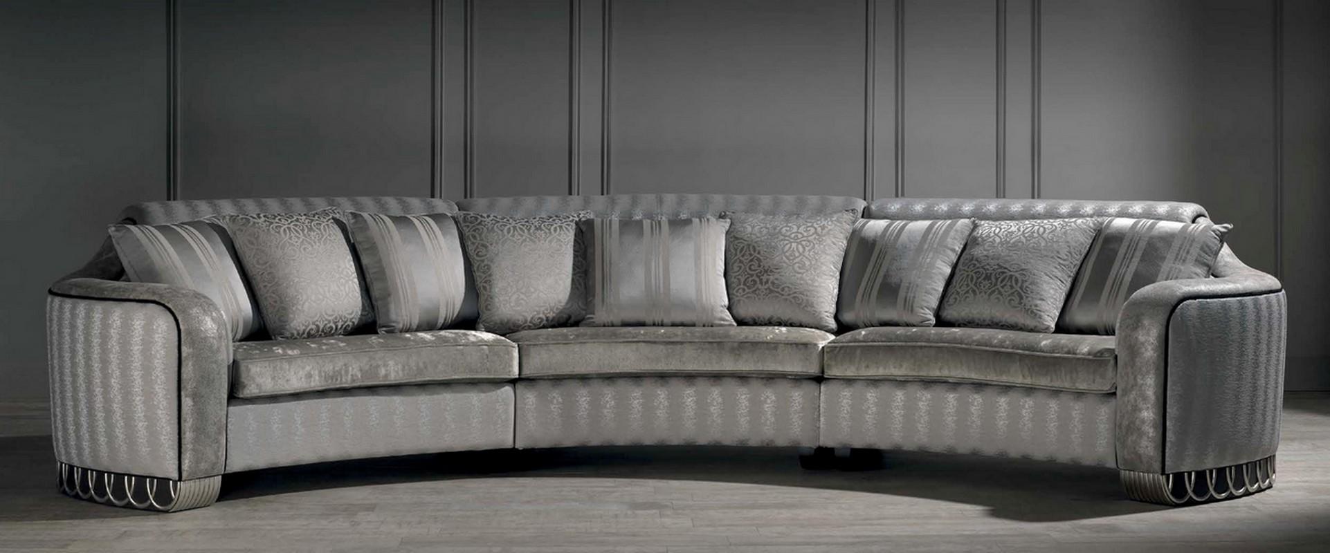 Baroque Halfmoon Sofa
