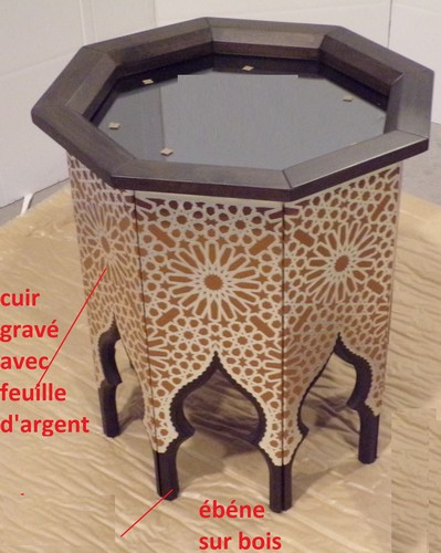 Table basse orientale Paris