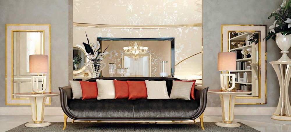 Exceptionnel Modèle Modern Luxury Sofa ...