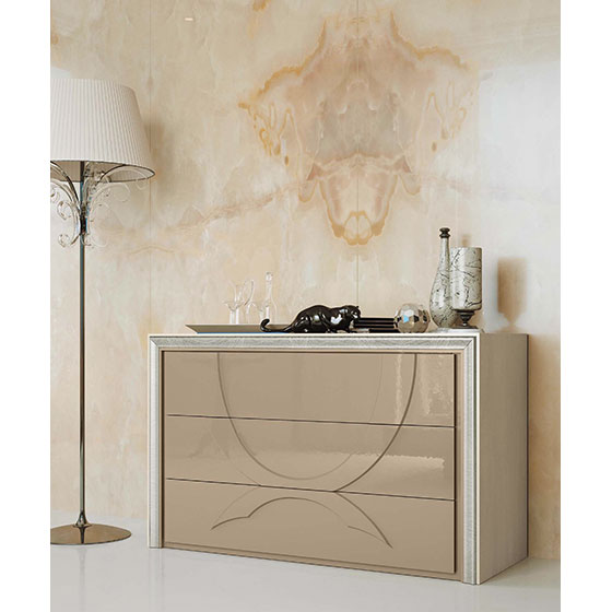 Meubles contemporains meubles sur mesure hifigeny - Commode contemporaine laquee ...