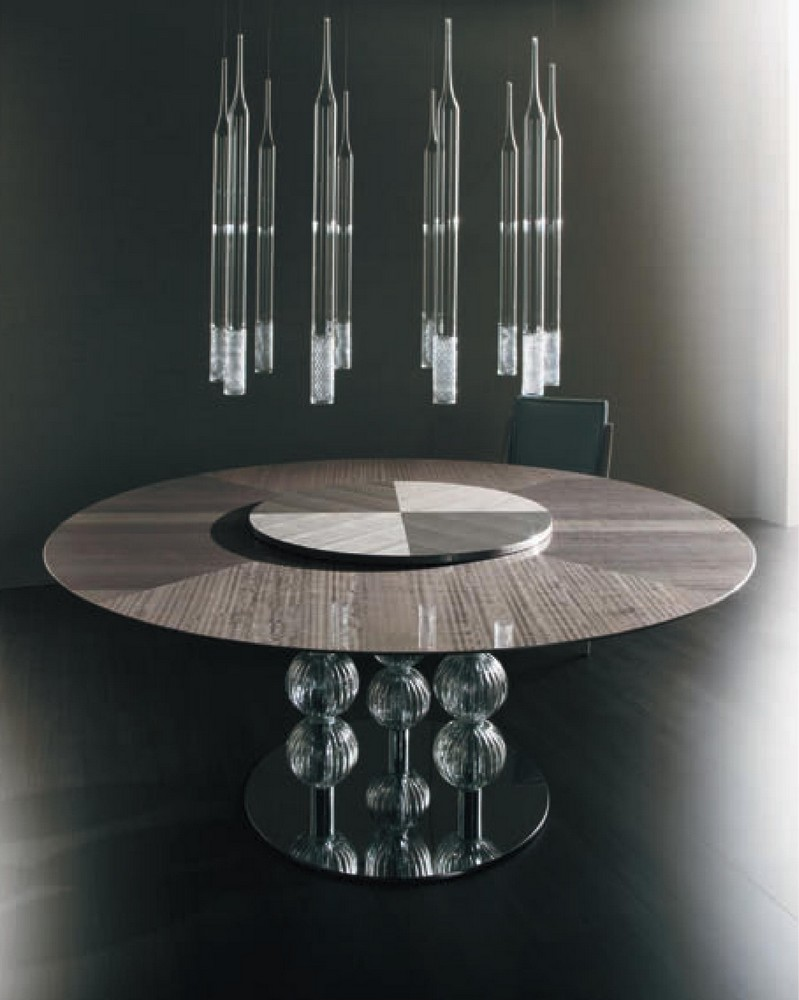 Modèle Murano Glass Dining Table ...