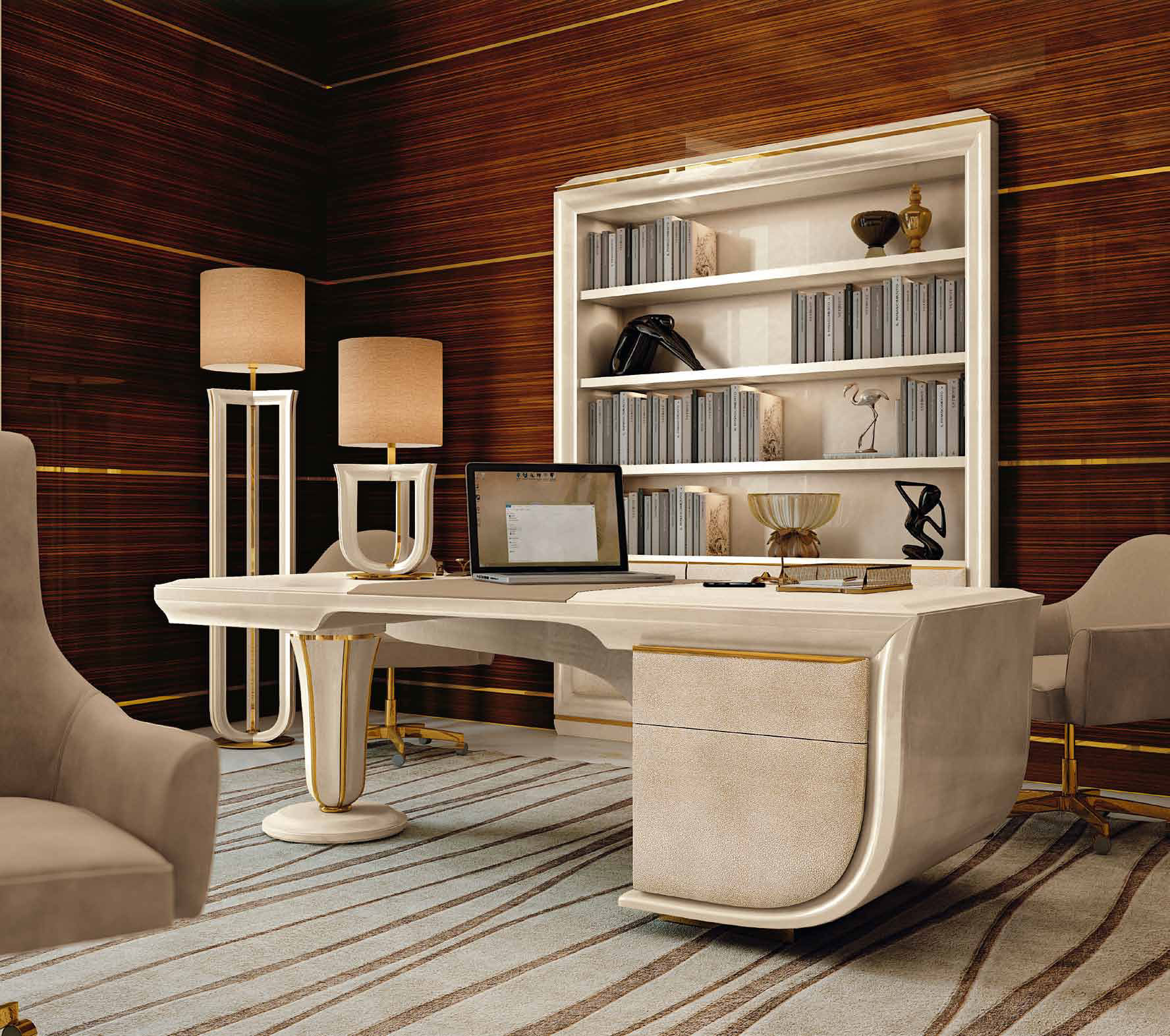 meubles contemporains meubles sur mesure hifigeny On bureau de luxe design