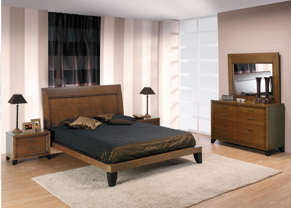 decoration de chambre a coucher moderne. Black Bedroom Furniture Sets. Home Design Ideas
