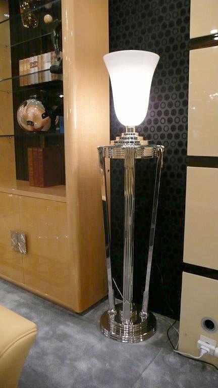 Les luminaires meubles sur mesure hifigeny for Verre pour lampe de chevet