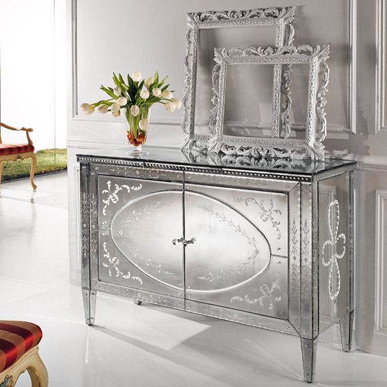 Buffet Miroir de luxe Paris