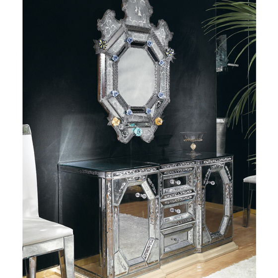 Transparents et miroirs meubles sur mesure hifigeny for Table basse miroir