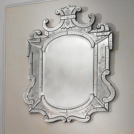 Mod le miroir de luxe paris for Miroir sur mesure paris