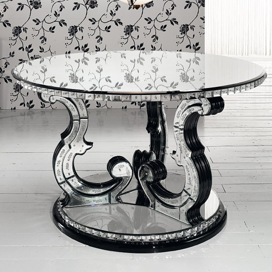Transparents et miroirs meubles sur mesure hifigeny for Miroir a poser sur table