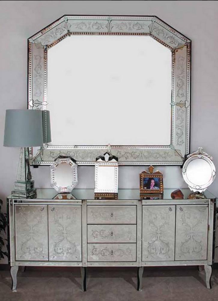 Transparents et miroirs meubles sur mesure hifigeny for Miroir buffet