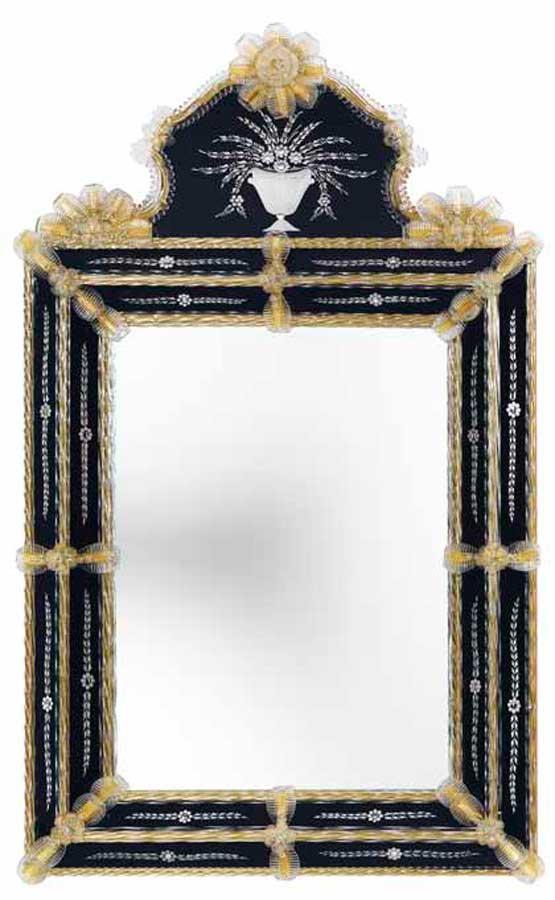 Transparents et miroirs meubles sur mesure hifigeny for Miroir venitien murano