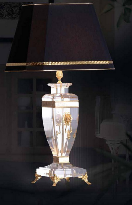 Lampe transparente Paris