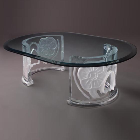 Transparents et miroirs meubles sur mesure hifigeny for Art de la table de luxe