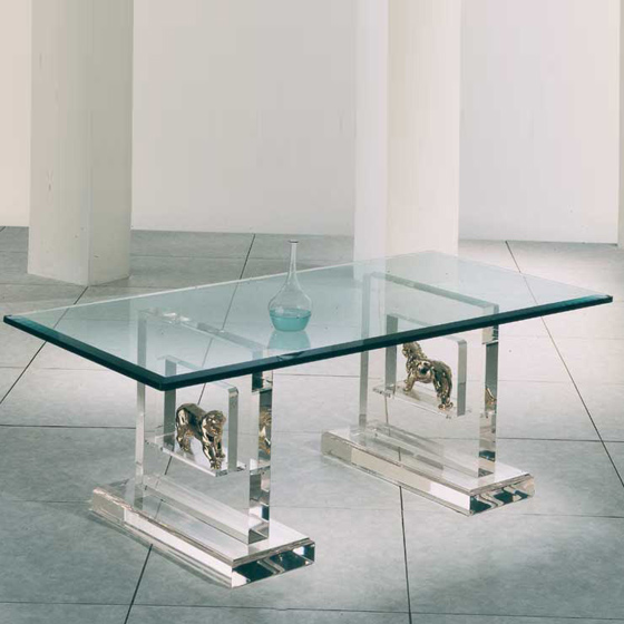 Transparents et miroirs meubles sur mesure hifigeny for Nettoyer table en verre