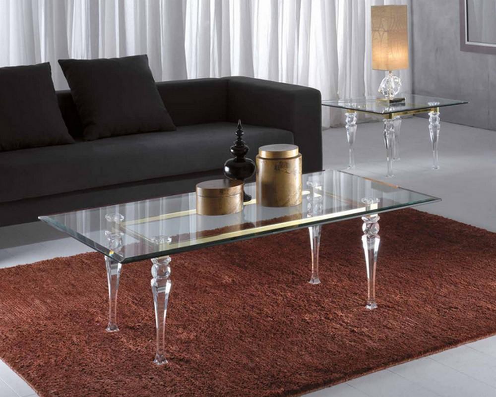 Transparents et miroirs meubles sur mesure hifigeny for Table basse scandinave transparente